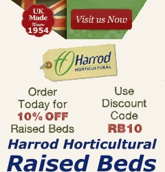 Harrod Horticultural raised beds