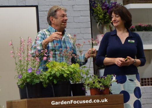 Alan Titchmarsh at Gardeners World Live