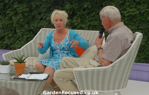 Carol Klein at Gardeners World Live