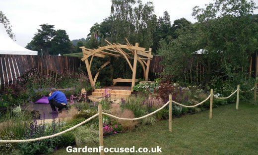 Great Otdoors display garden RHS Chatsworth