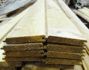 Tongue and groove timber