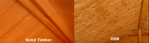OSB versus solid timber