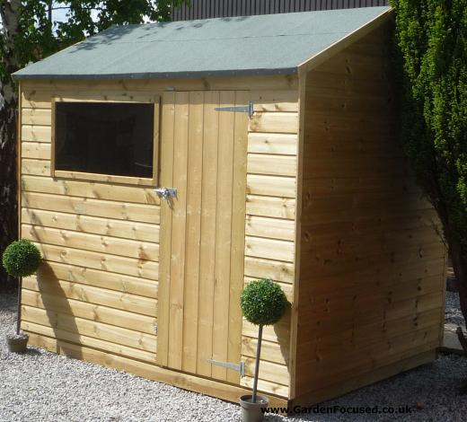 Waltons tongue and groove shed