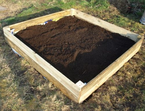 Raised bed fully assembled