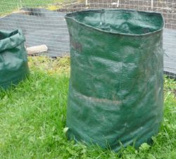 An ideal container for growing potatoes